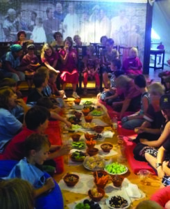 Ein Festmahl gibt es für die Gäste der Museumsnacht