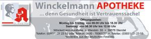 Winckelmann-Apotheke Banner
