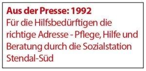 Aus der Presse 1992