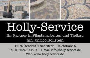 Visitenkarte Holly Service-1