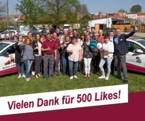 SWG - Vielen Dank für 500 Likes